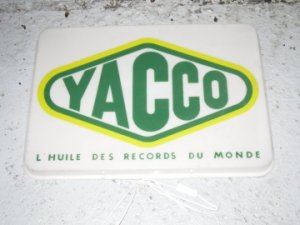 vente panneau publicitaire yacco clair