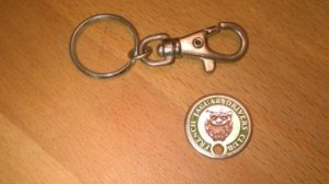 Porte-clefs French Jaguar Drivers Club  FJDC  (circa 90)